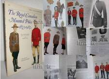 Buch Broschüre : Royal Canadian Mounted Police RCMP ( Uniform M.- Abzeichen ...