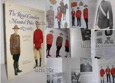 Libro opuscolo: Royal Canadian Mounted Police RCMP (uniform M. - distintivo...