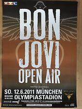 BON JOVI  2011  MÜNCHEN  + orig.Concert Poster - Konzert Plakat A1 xx