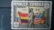 SPAIN 1938, AIRMAIL, MLH*, AUTHENTIC. SIGNED
