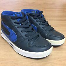 9578c27f6a6a Duffs Crank HI DX712 Navy Blue Lace Up Skate Shoes Trainers Size UK 6