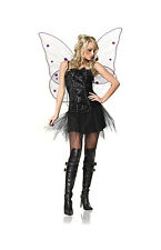 NEW BAD FAIRY DARK FOREST NYMPH VELVET LEG AVENUE DRESS S UK 8 10 PIXIE WITCH