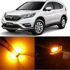 Alla Lighting Front Turn Signal Light 7440NA Amber LED Bulbs for Honda CR-V CRZ