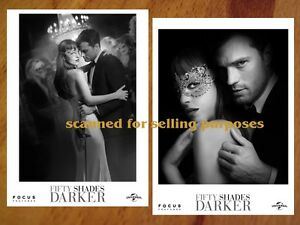 FIFTY SHADES DARKER rare Press Photo Set JAMIE DORNAN Dakota Johnson 40 PHOTOS