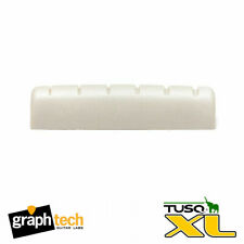 """Graphtech PQL-6060-00 XL Slotted 1/4"""" Epiphone Replacement Nut TUSQ"""