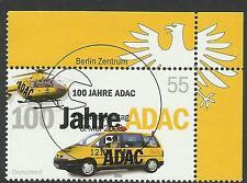 Eckrand oben rechts - Mi.-Nr.: 2340 -100. Jahre ADAC - mit ESST Berlin