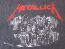 Vintage Metallica Master of Puppets tour t-shirt 1986 rock metal 80's size L/XL