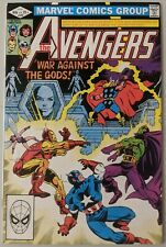 Avengers 220 VF/NM War Against The Gods 1982 Marvel Comics