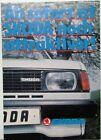 1984 Skoda 105 S 105 L 120 L 120 GLS Coupe German Sales Folder Original