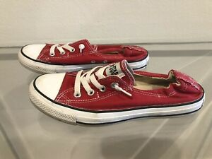 Converse All Star Red Size US9 UK7 EUR40