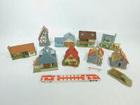 BE920-1# 9x Faller H0 Modelle Baustelle, Wohnhaus etc.
