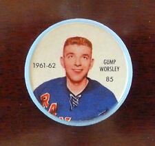 1961-62 NHL Shirriff & Salada Foods Coins # 85 Gump Worsley -- NrMt
