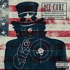 ICE CUBE - DEATH CERTIFICATE (25TH ANNIVERSARY EDITION)   CD NEW+