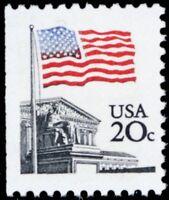1894, Mint NH 20¢ With Blue Stars ERROR - Stuart Katz