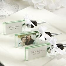 60 Photo Place Card Holder Wine Bottle Stopper Shower Event Party Gift Favors