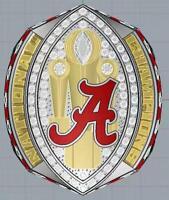 HOT 2020 Alabama Crimson Tide NCAA Football Championship Ring