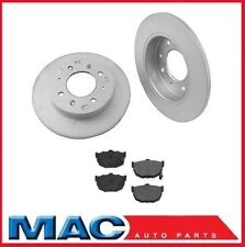 REAR Disc Brake Rotors & Ceramic Brake Pads for Kia Spectra 2.0L 2005-2009