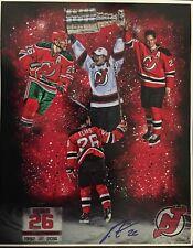 RARE Patrik Elias autographed poster New Jersey Devils #26 Patty Retirement