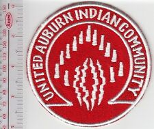 American Indian Tribal Seal California United Auburne Indian Community Auburn CA