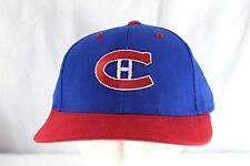 Montreal Canadian Hockey NHL  Blue/Red Baseball Cap Snapback