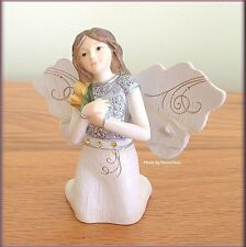 """NOVEMBER MONTHLY ANGEL FIGURINE 3"""" BY PAVILION ELEMENTS FREE U.S. SHIPPING"""