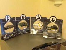 Set of 4 Corgi James Bond 007 cars & moonraker shuttle - NEW - LIMITED STOCK!!!!