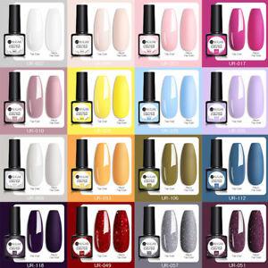 UR SUGAR 130 Colors Nail Gel Polish Soak Off UV LED Base Top Coat Nail Varnish