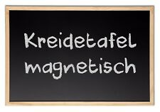 Kreidetafel Schultafel Holz MAGNETISCH 40 x 60 cm Pinnwand Magnettafel Board