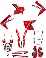 Team Honda graphics CRF250x 2004 to 2016 CRF250X decal kit stickers pegatinas