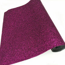 Sparkly Fine Glitter Fabric Faux Leather Sheets Vinyl Bows Craft Material Metre