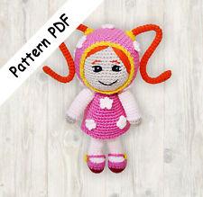 Crochet Patrón de la muñeca, Milli Equipo Umizoomi patrón de ganchillo Pdf (leer descripción)