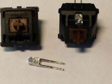 10x Cherry MX Brown interruptor, sonda con LED, para, p. ej., Logitech g710+, g610