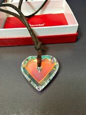 Baccarat A La Folie Heart Pendant - 103655 - Clear Crystal Pendente - NEW IN BOX