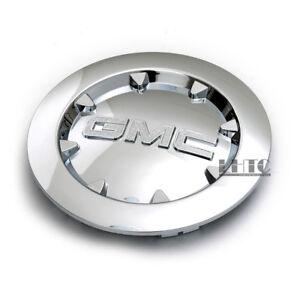 "1Pcs 07-13 GMC Sierra 1500 Yukon XL Denali Chrome Wheel Center Hub Caps Rim 20"""