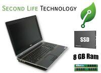"""Dell Latitude E6520 15.6"""" Core i5 2.5GHz 8GB Ram NEW 240GB SSD Windows 10 Pro"""