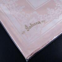 Vtg Jabara Light Pink Cloth Napkins & Placemats - Set of 4 - West Germany - New