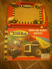 TONKA LEARN TO DRAW TOUGH & MIGHTY VEHICLES BOOK & ETCH A SKETCH MAGNETIC PAD