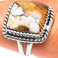 Peanut Wood Jasper 925 Sterling Silver Ring Size 8.25 Ana Co Jewelry R58921F