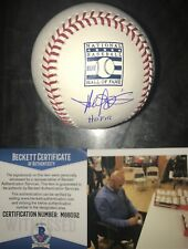 Harold Baines HOF 19 WHITE SOX Signed Hall of Fame Baseball BECKETT COA 3