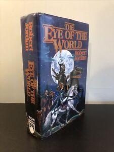Robert Jordan, Wheel Of Time I, EYE OF THE WORLD, Hardcover 1990 First Edition