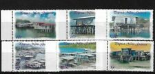 PNG SG977/82, 2003 COASTAL VILLAGES MNH