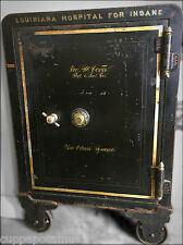 Antique Louisiana Hospital For Insane Asylum Safe New Orleans Unrestored