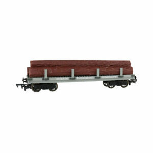 HO-Gauge - Thomas & Friends - Sodor Logging Co. Flat Wagon w/ Logs
