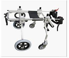 New listing Best Friend Mobility Full Support Quad Dog Wheelchair Cart 4 Wheel Size Medium