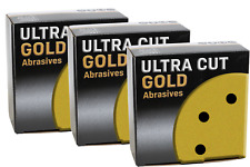 """DA Discs Abrasive 6"""" Grip PRO GOLD 6 hole 3 boxes of 50 discs  ANY MIXED GRITS"""