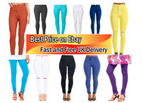 Brand new Ladies High Waisted Skinny stretchy Jeans Jeggings Pants, size :4-16