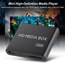 HD Box Multimedia Player TV USB HDMI 1080P Media Vidéo Lecteur MP3 AVI USB SD