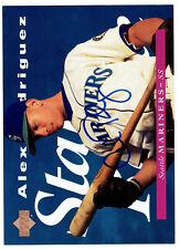 Alex Rodriguez 1995 Upper Deck #215 5x7 Upper Deck Authenticated Autograph Card