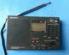 Sony ICF-SW7600G FM/AM/Shortwave Receiver w/Active Loop Antenna(PREOWNED)