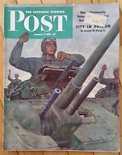 "Saturday Evening Post January 9 1943 Broadway ""This Is The Army"" Cocker Spaniel"